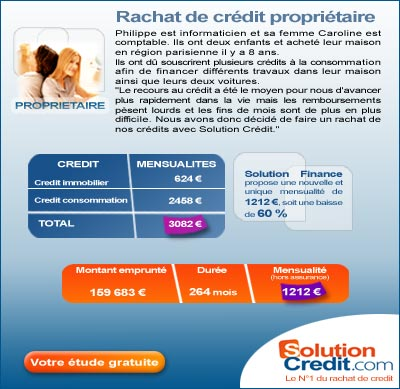 solution credit : rachat de credit